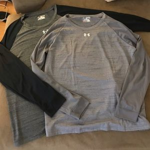 Under Armour long sleeve t-shirts